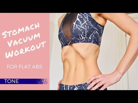 Stomach Vacuum Workout for Flat Abs