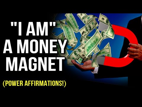 """""""l AM"""" A MONEY MAGNET! Power Affirmations (Program Your Mind to Attract Wealth!) Law Of Attraction"""